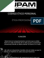 Código ético personal