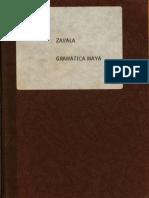 M. Zavala - Gramatica Maya-Edición Facsimilar, Hecha Por José Díaz-Bolio (1974, 1896)