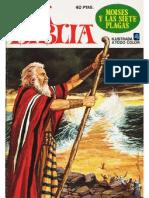 La Biblia - Moises y las siete plagas - No. 04 - Historieta