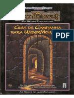 Forgotten Realms AD&D - Undermountain - Guia de Campanha para Undermountain - Biblioteca Élfica