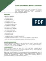 Municipalização - Licenciamento Ambiental