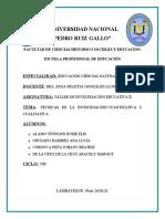 LA IMPORTANCIA DE CONOCER LAS TÉCNICAS DE LA INVESTIGACIÓN CUANTITATIVA Y CUALITATIVA