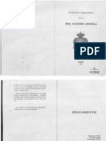 Reglamento de la RAE, 1995. (En vigencia.)