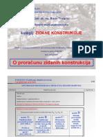 5 Zidane Konstrukcije Proracun