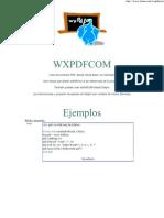 wxPdfCOM Generador Pdf gratuito