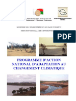 Programme d'action national d'adaptation au changement climatique (MEEF-DGE / 2006)