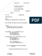 LTA Order of Supreme Court
