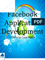 Facebook Application Development - Pixtoria Case Study