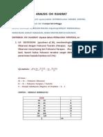 Analisis Chi Kuadrat