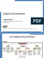Clase 1 - Cadena Documental..
