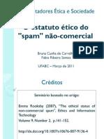 O estatuto ético do spam não-comercial