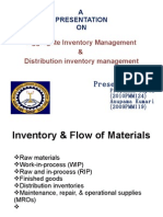 Final Aggregate Inventory(1)