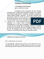 The foreign Exchanges and foreign excahnge control      session  21-22