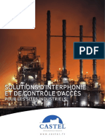 CASTEL Interphonie Et Controle d Acces Sites Industriels