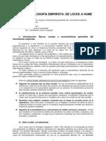 TEMA 9.- LA FILOSOFIA EMPIRISTA DE LOCKE A HUME