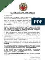 JCN - LA CONTRADICCIÓN FUNDAMENTAL, Junio 1983