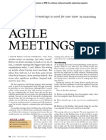 Agile meetings