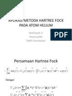 APLIKASI METODA HARTREE FOCK PADA ATOM HELIUM
