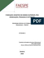 Faespe Atividade 3 - Jefferson Martins