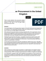 PEFC Case Story - Public Timber Procurement in the United Kingdom