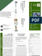 panfleto Criação de Negócio