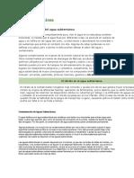 informacion para hacer diapositivas de contaminacion de agua subterranea