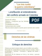 El conflicto armado / Antecedentes