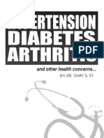 Diabetic phamplet