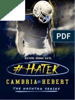 #Hater - Cambria Hebert