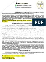 PORTFÓLIO 5º e 6º SEMESTRE PEDAGOGIA 2021.2 - Projeto de Vida e a Formação Integral Dos Sujeitos.