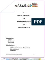 PROJECT ON SHOPPING MALL
