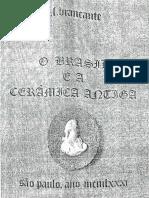O Brasil e a Cerâmica Antiga. BRANCANTE, E.F. 1981