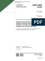 NBR 15123 - Isoladores Para Linhas Aéreas Com Tensões Nominais Acima de 1 000 V
