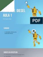 AULA 1 - MOTOR DIESEL