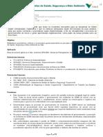 PGS-003384 - Gerenciamento de Incidentes de Saúde, Segurança e Meio Ambiente