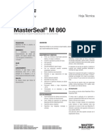 BASF MasterSeal M 860 - Ficha Técnica