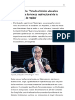 Jorge Argüello_ _Estados Unidos visualiza claramente la fortaleza institucional de la Argentina en la región_ - Modo de lectura