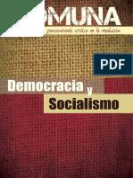 Varios - Comuna - Pensamiento Critico en La Revolución - Democracia Y Socialismo