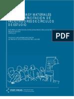 Sugerencias y Materiales para la Capacitación de Facilitadores de Círculos de Estudio