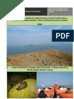 Informe de actividades del SERNANP ante el Plan de Acción para la Protección del Medio Marino y Àreas Costeras del Pacifico Sudeste 2010