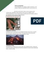 Los Fenómenos naturales y los desastres