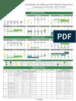Calendario Escolar IEMS 2021-2022