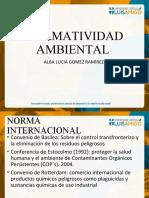 Tratados internacionales vigentes en la norma colombiana
