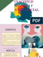 EMPATÍA Y COGNICIÓN SOCIAL.. diapositiva