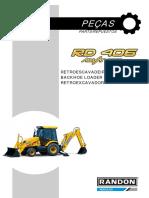 Retro Randon RD406 Antiga