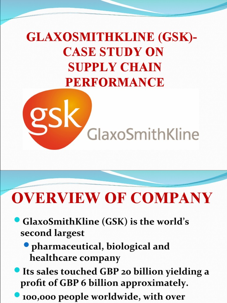 gsk case study competition Winner of the emerging technologies competition 2014 case study: september 2016 iron-deficiency anaemia is the largest nutritional deficiency in the world, with one.