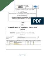 1. Plan de Manejo Ambiental Operativo (PMAO) Actualizado