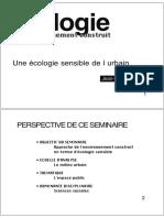 Jean-Paul Thibaud - Une Écologie Sensible de l'Urbain
