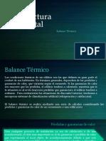 Balance termico