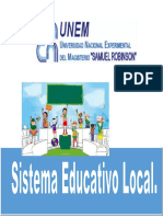 Sistema Educativo Local